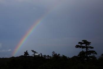 雷雨の後(7月29日撮影) Photo by Kenji Shimadate