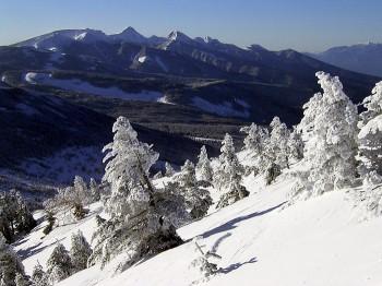 山頂からの景色・3月20日撮影