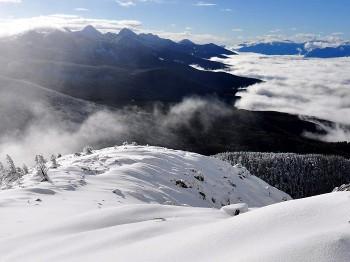 北横岳南峰からの八ヶ岳 11月23日撮影