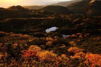 七ツ池俯瞰(9月29日撮影)