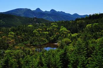 七ツ池と八ヶ岳