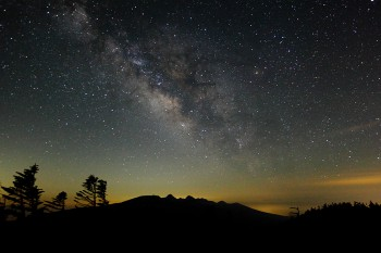 清らかな満天の星 Photo by Kenji Shimadate
