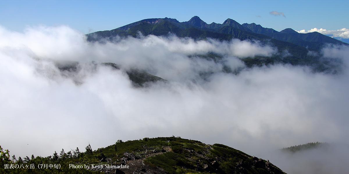 202107SD_雲表の八ヶ岳(7月中旬)
