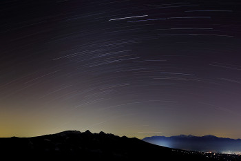 満天の冬夜空 Photo by Kenji Shimadate
