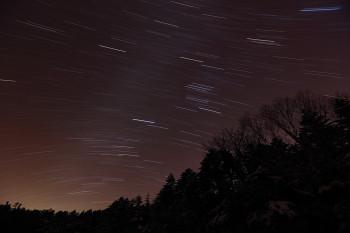 心洗う星空(1月3日撮影)  Photo by Kenji Shimadate